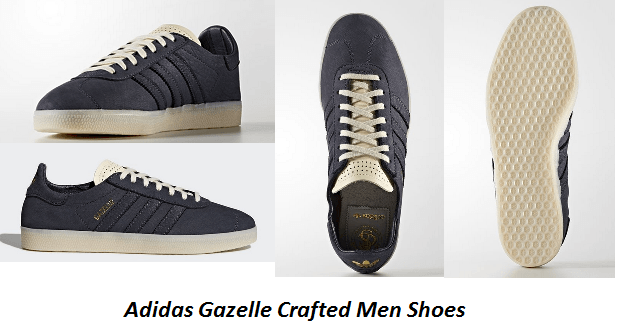 huge discount f2f0c 4f91a ... get adidas gazelle crafted men shoes key features and benefits f61a5  df3b2