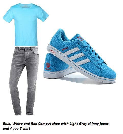 adidas campus azzurro